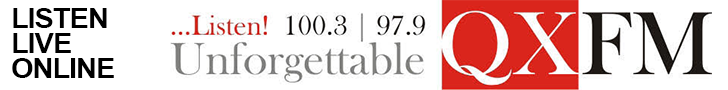 QX FM - 100.3 | 97.9 - Listen!